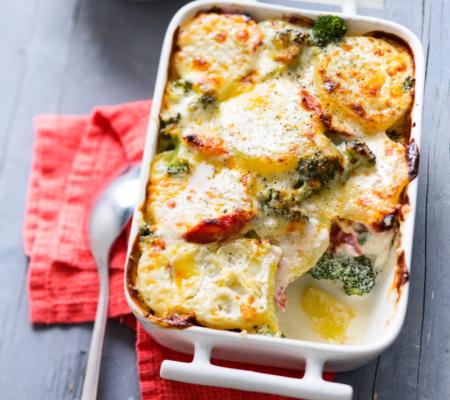 Gratin-de-pommes-terre-et-brocoli-au-chorizo-©Amélie-Roche-UE-INTERFEL-CNIPT